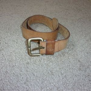 Calvin Klein Leather Belt Shabby Women's L